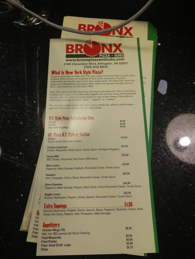 BronxMenus