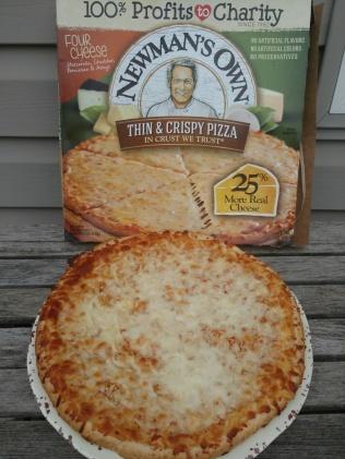 NewmansCheesePizza