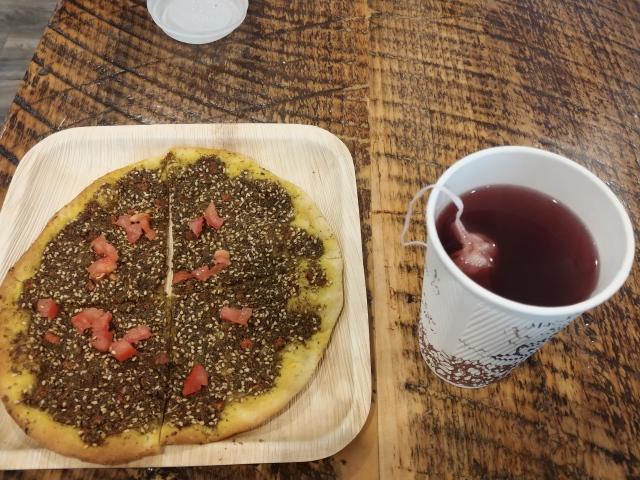 BreakfastThymePizzaTea