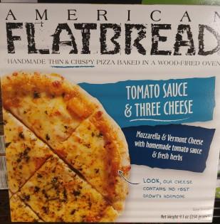 AmericanFlatBreadCheesePizza